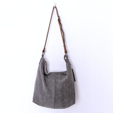 URBAN JUTE SLOUCHY | DARK GREY