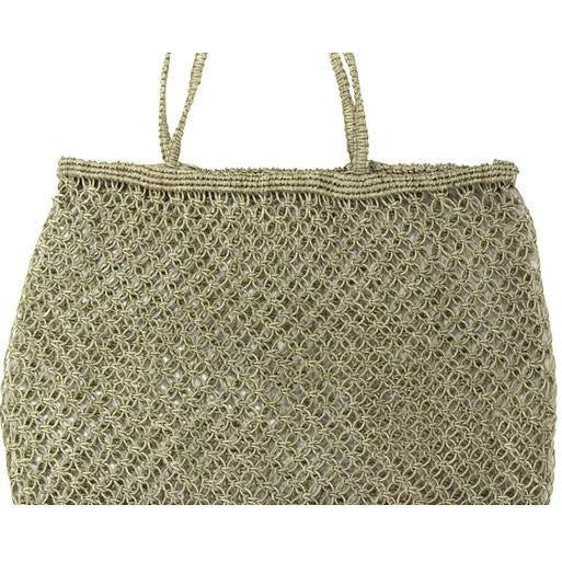 JUTE STRING SHOPPER | NATURAL