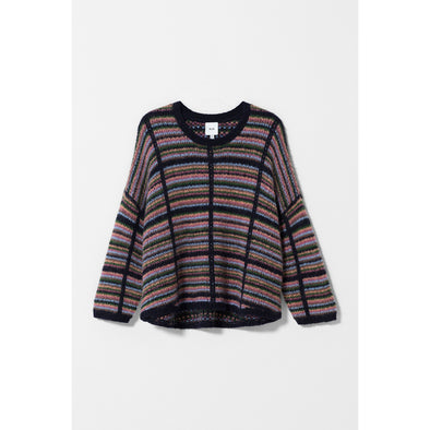 LENA SWEATER | MULTI CHECK