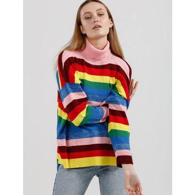 LUCY IN THE SKY KNIT | RAINBOW
