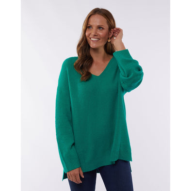 MORNING MIST KNIT | MEADOW GREEN
