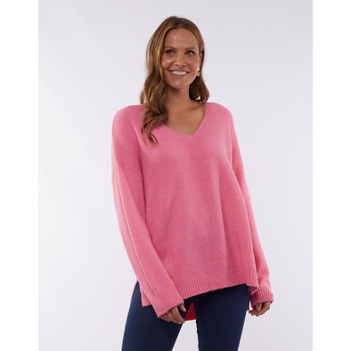 MORNING MIST KNIT | BUBBLEGUM PINK