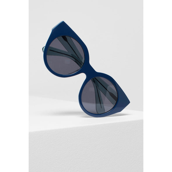NAEMA SUNGLASSES | NAVY & EMERALD