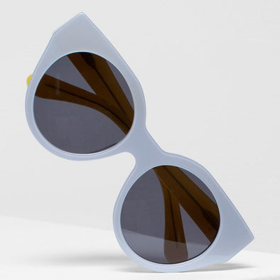 NAEMA SUNGLASSES | SMOKE & YELLOW