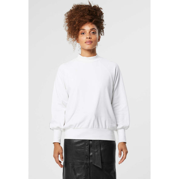 NOVELLA LOGO RIBBON STRETCH SWEATER