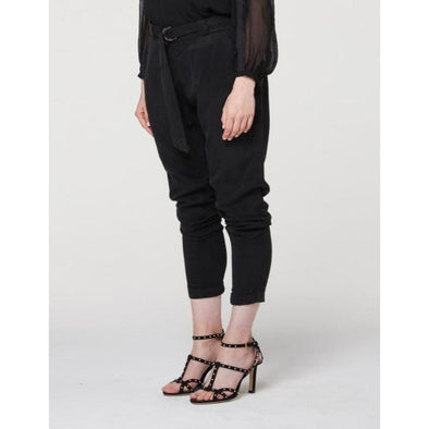RELAXED CUPRO BLEND PANT