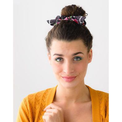 SCRUNCHIE WITH BOW ZAFRA