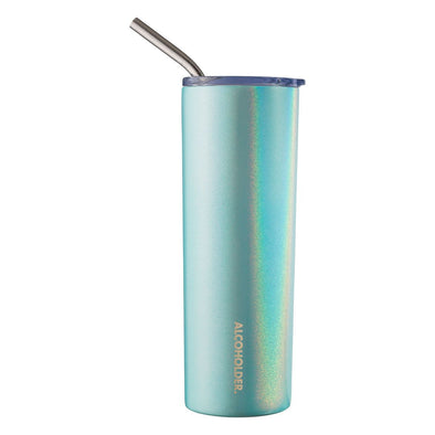 SKNY SLIM INSULATED TUMBLER | AQUA MIST