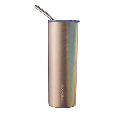 SKNY SLIM INSULATED TUMBLER | ROSE GOLD