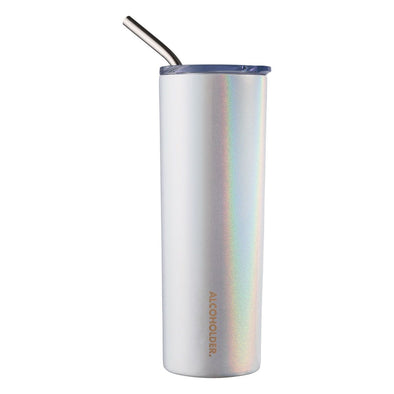 SKNY SLIM INSULATED TUMBLER | UNICORN SPARKLES