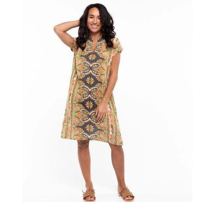 SUNDAR DRESS | WILD HIBISCUS