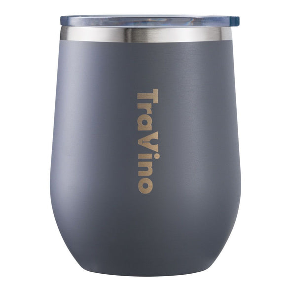 STEMLESS VACUUM INSULATED TUMBLER | CEMENT GREY
