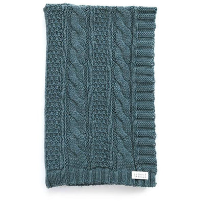 TRINITY CABLE STITCH BLANKET