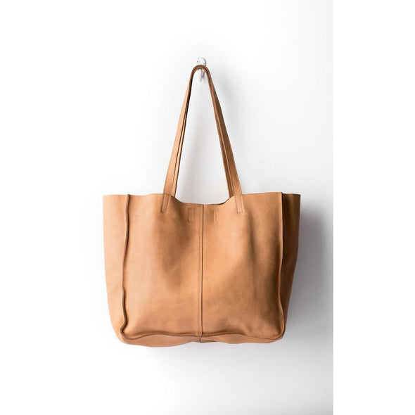 BABY UNLINED TOTE | NATURAL