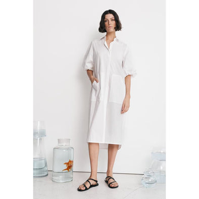 VANA SHIRT DRESS | IVORY