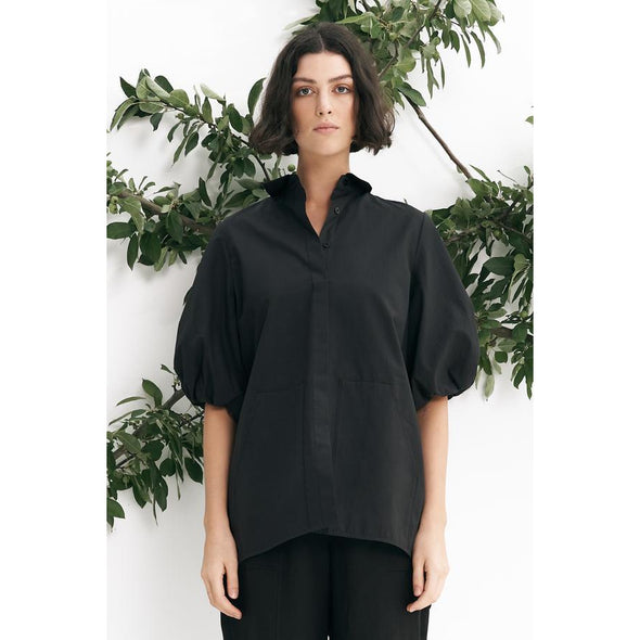 VANA SHIRT | COAL