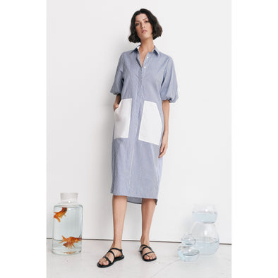 VANA SHIRT DRESS | STRIPE
