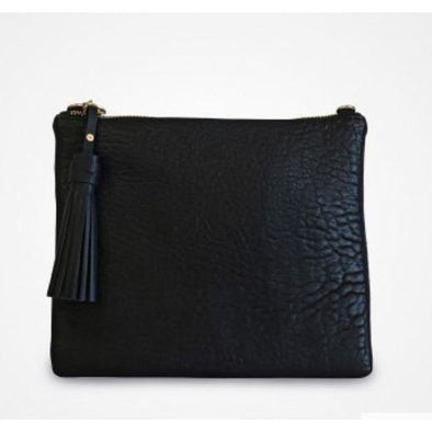 JEM BLACK PEBBLE CLUTCH