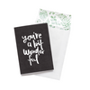 WILD HEARTS GREETING CARD