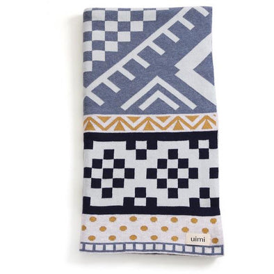BOHO TRIBAL PATTERNED BLANKET