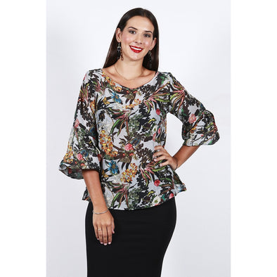 COURTNEY BLOUSE | ORCHID