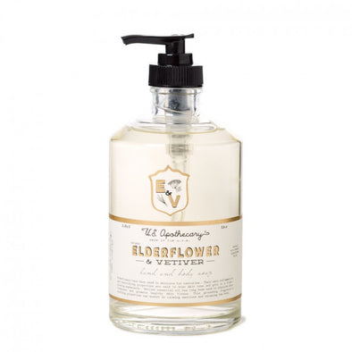 ELDERFLOWER HAND & BODY WASH