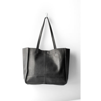 BABY UNLINED TOTE | BLACK