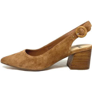 ROGA | TAN SUEDE/NATURAL HEEL