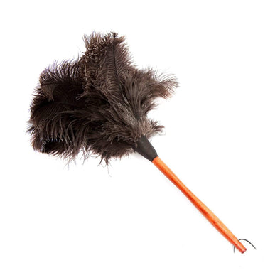 OSTRICH BROWN FEATHER DUSTER | 50CM