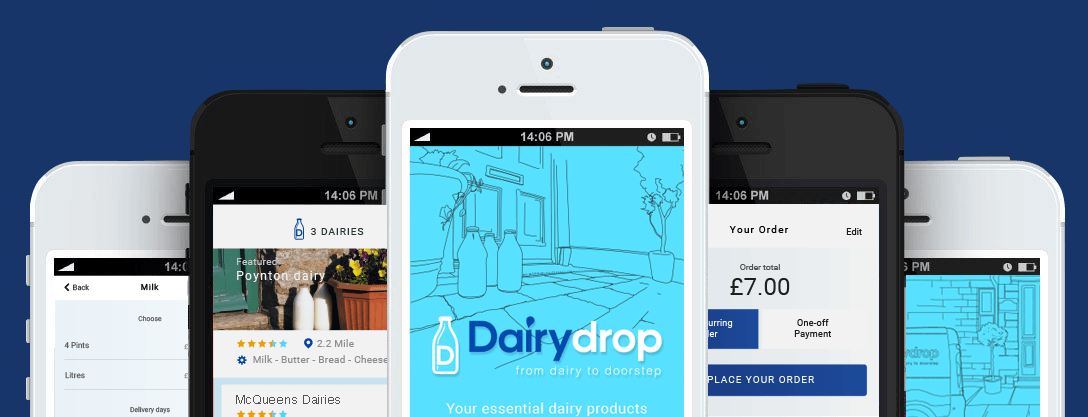 Green App and Eco App Dairydrop