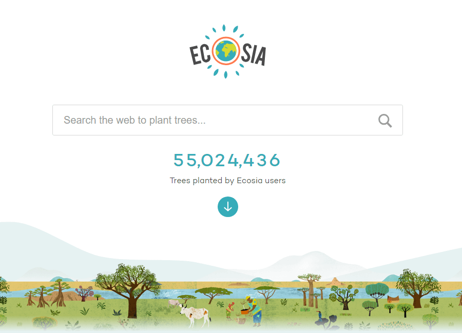 Green App and Eco App Ecosia