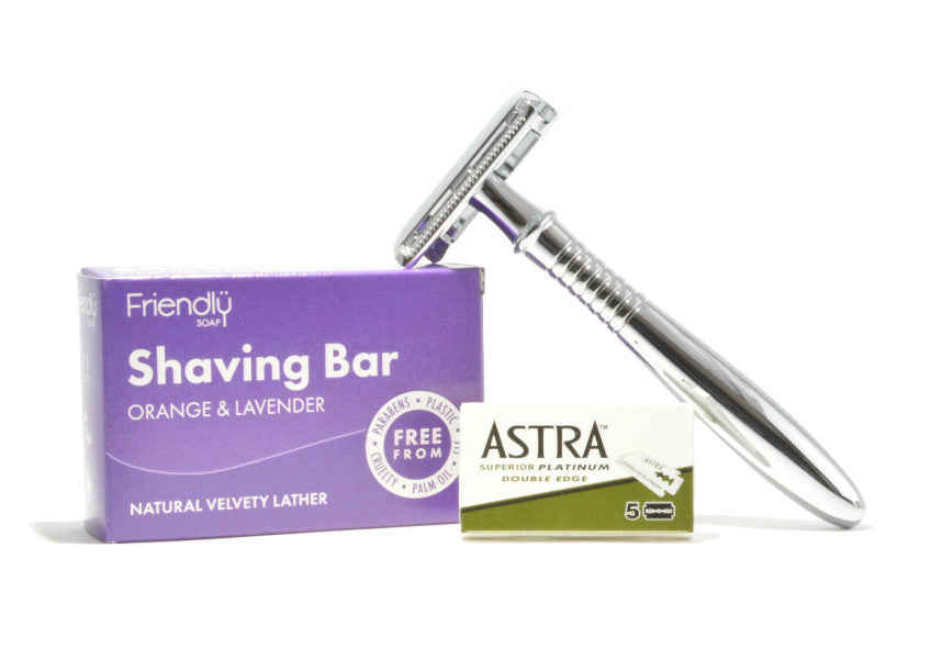 The Definitive Guide to Plastic Free Shaving | How to use an Eco