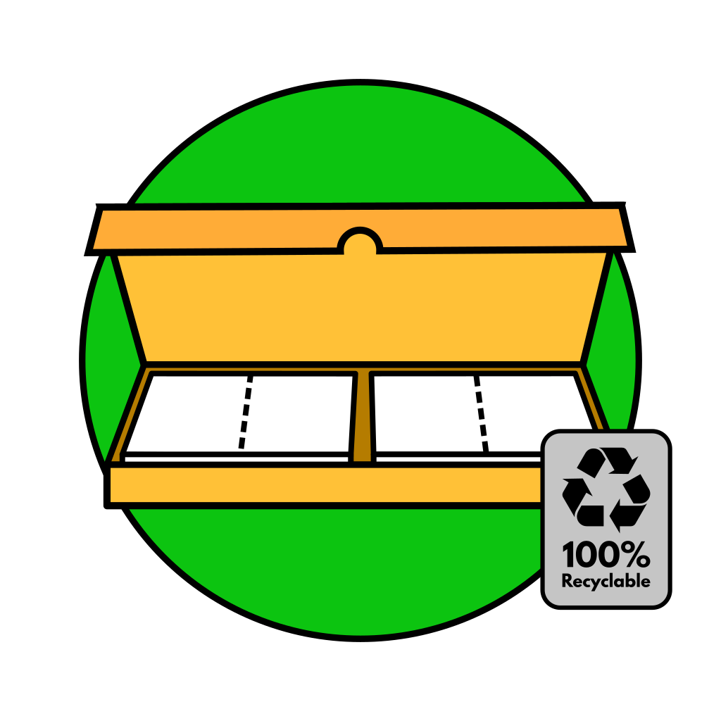 Reco laundry detergent strips
