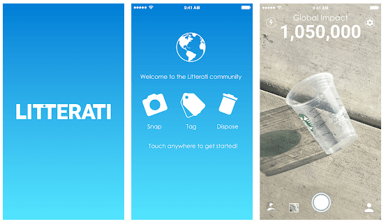 Green App and Eco App Litterati