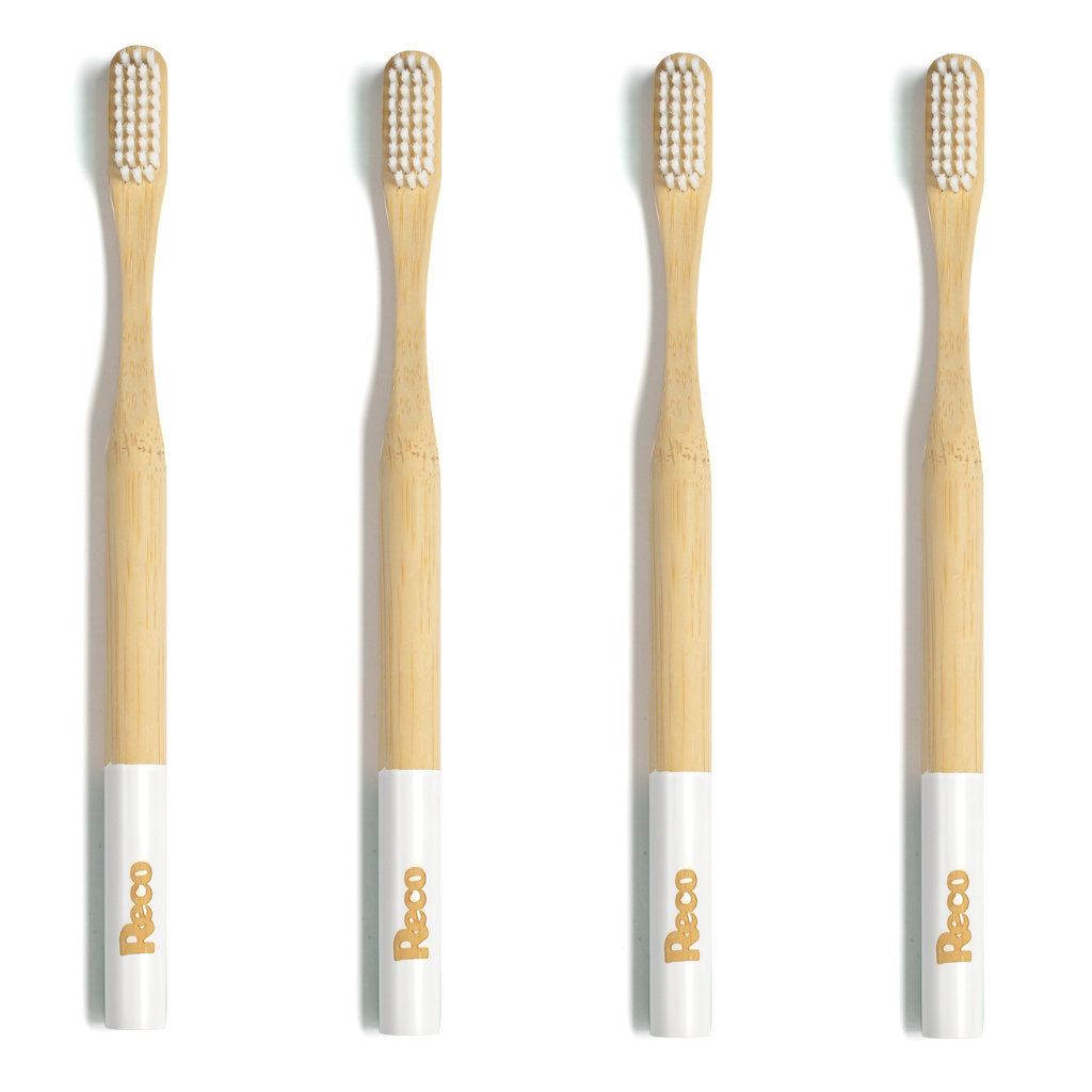 Bamboo Toothbrush - One Year's Supply - Buy 3 Get 1 Free