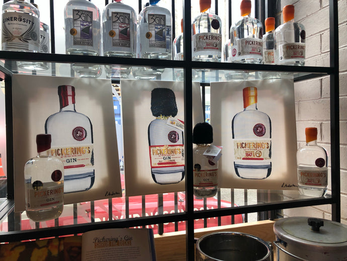Limited Edition collaboration with Pickering's Gin