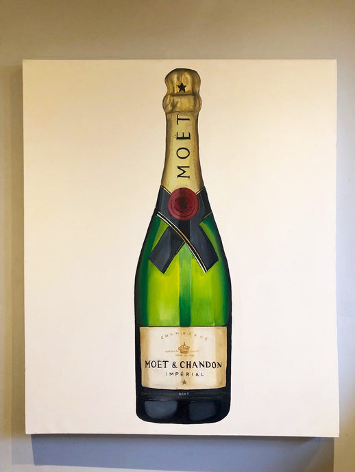 'Champagne' Original Oil Painting
