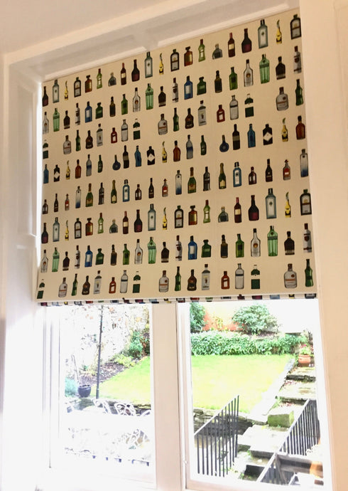'BAR' Linen fabric - Blinds and Curtains