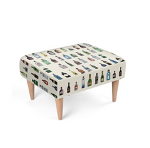 Load image into Gallery viewer, 'BAR' Bespoke Footstool