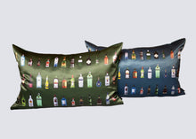 Load image into Gallery viewer, 'BAR' Silk Cushion