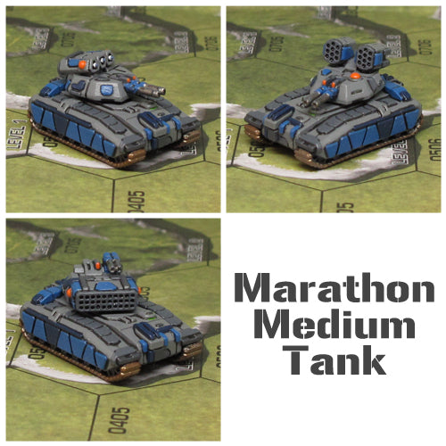 New Release! Marathon Medium Tank!