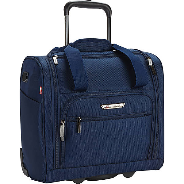 "15"" Under Seat Luggage with USB Port - Purple - 15"""