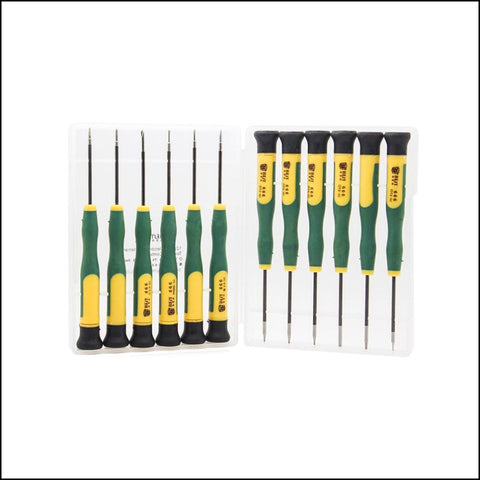 BEST 666 12 Pieces Chrome-Vanadium Steel Screwdrivers Set - DIY Parts & Tools