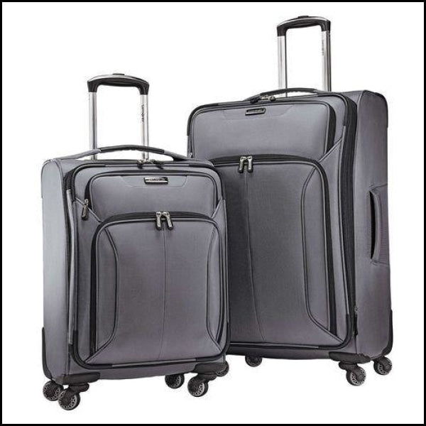 Samsonite 2-Piece Spherion Luggage Set - Charcoal - Luggage