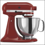 Artisan10-Speed KSM150PSGC Countertop Stand Mixer - 5Qt - Gloss Cinnamon - Kitchen Appliances
