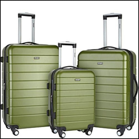 Wrangler 3-N-1 3-Piece Hardside Luggage Collection - Luggage