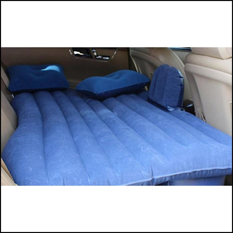 Trend Matters Inflatable Car Air Mattress With Pillows - Gray - Furniture