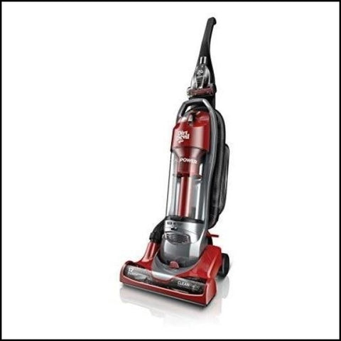 Dirt Devil Power Cyclonic Bagless Upright Vacuum Cleaner - Red - Floor Cleaning Supplies