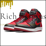 Nike Air Jordan 1.5 High The Return AJ 1.5 Mens Basketball Shoes Outdoor Shock absorbing Comfortable Shoes - 768861 001 / 40.5 - Basketball