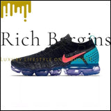 NIKE AIR VAPORMAX FLYKNIT 2 Mens and Women Running Shoes Lightweight Sneakers - 942842-003 / 40.5 - Running Shoes